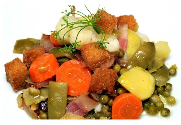 Panaché de verduras a la castellana