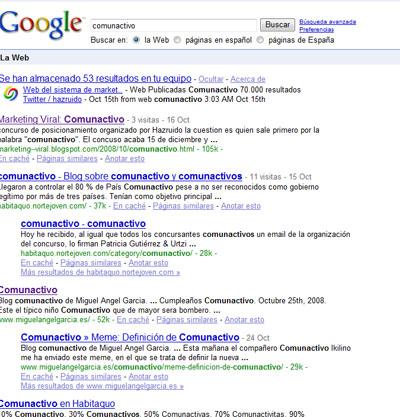 comunactivo en Google